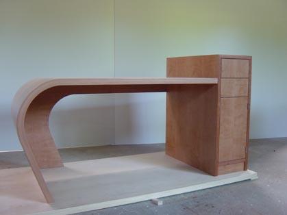 Schreibtisch extravagant  Schreinerei Bloechl Passau: Büro
